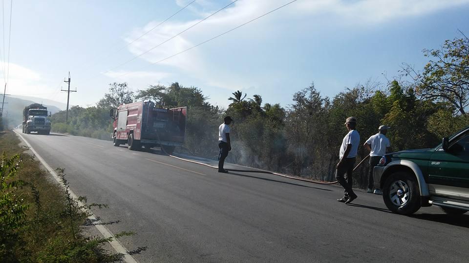 , Desaprensivos queman área boscosa de Cabral.