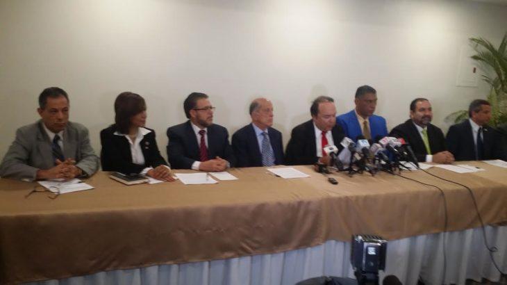 , La Oposición retornaría al diálogo si el PLD desiste de imponer JCE y TSE.