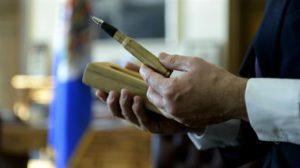 """, El acuerdo de paz se firmará con un """"balígrafo"""""""