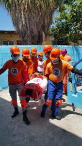 , Realizan simulacro de prevención y mitigación sísmica en Barahona.
