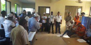 , Realizan simulacro de tsunami en Haina, Nigua y Palenque.