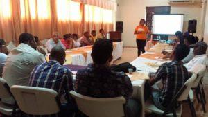 , UNICEF y Visión Mundial imparten taller sobre protección a niños niñas y adolescentes.