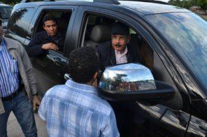, Presidente Danilo Medina visita zonas afectadas por lluvias en Barahona.
