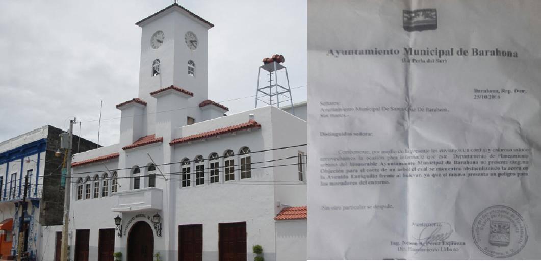 , Alcaldía se defiende de acusación realizada por Ambiente.