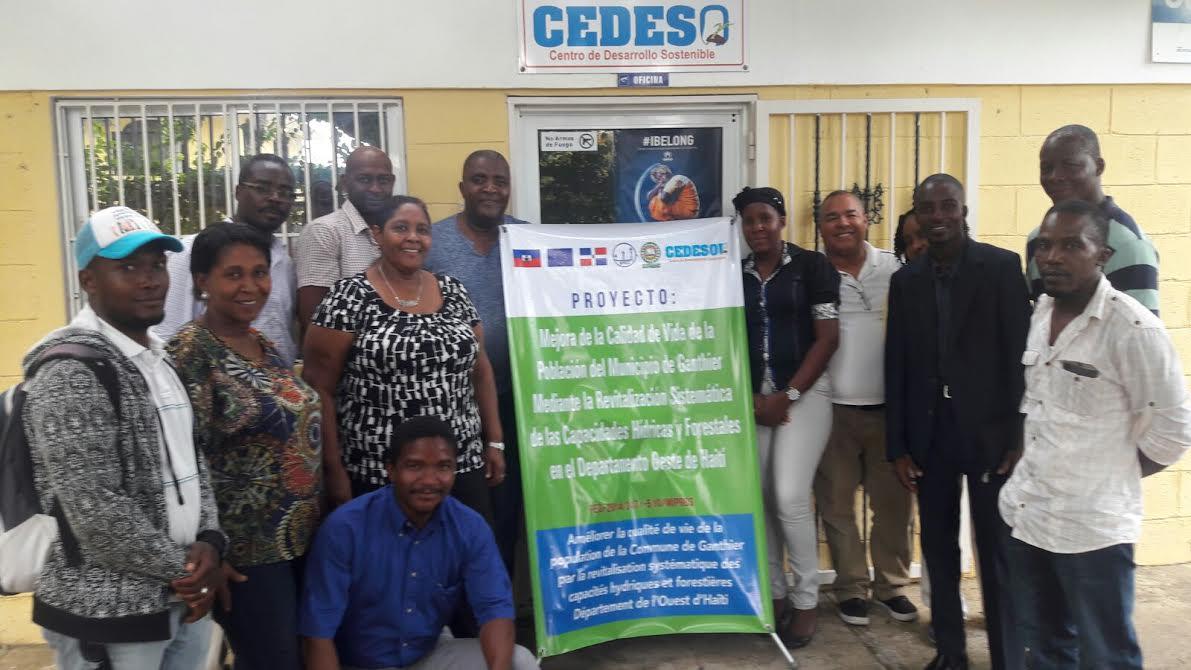 , Delegación haitiana vista proyectos ambientales en República Dominicana.