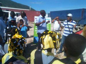 , Intercambio de estudiantes haitianos y dominicanos sobre medio ambiente