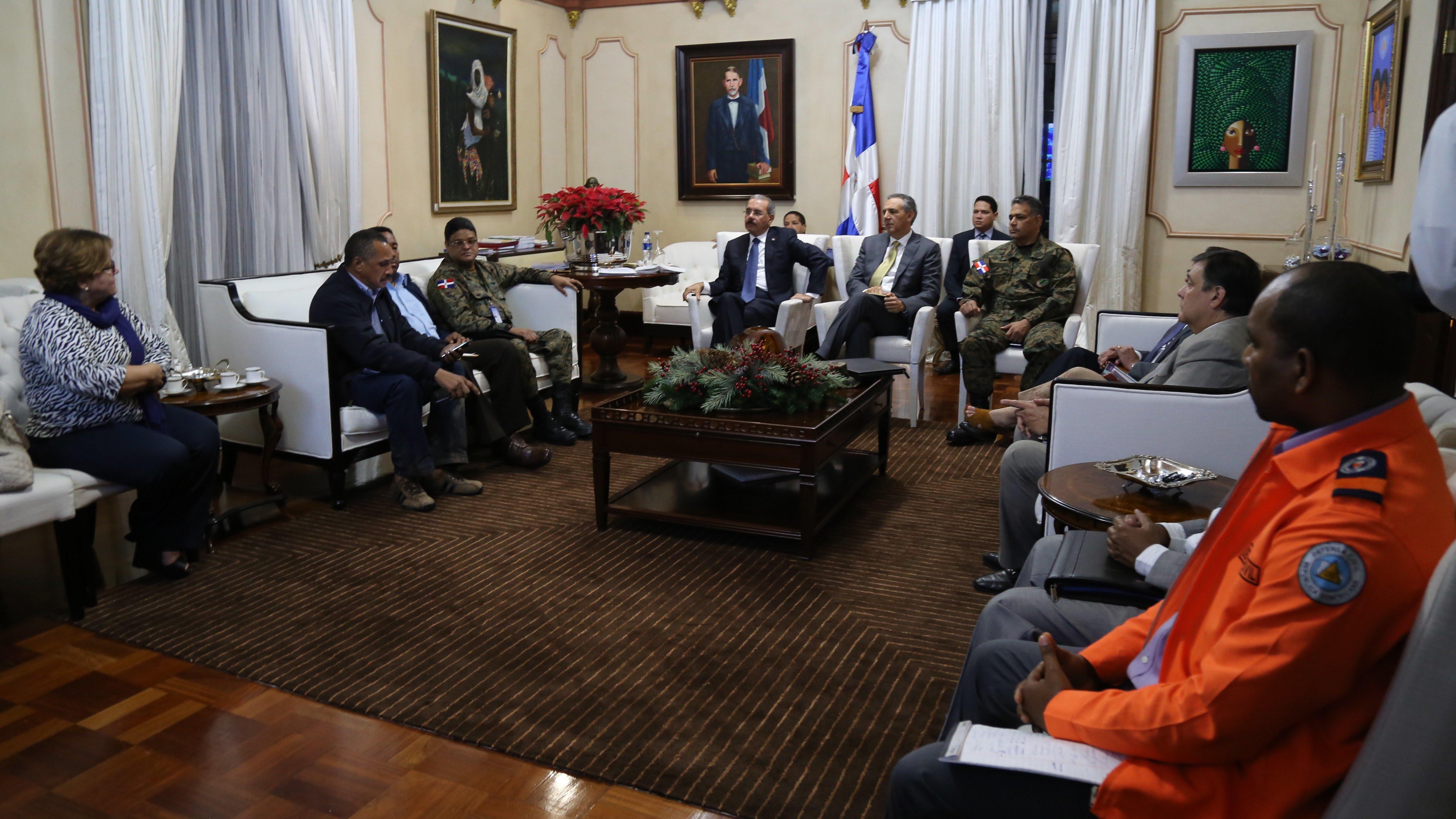 , Presidente da seguimiento a situación presa de Tavera