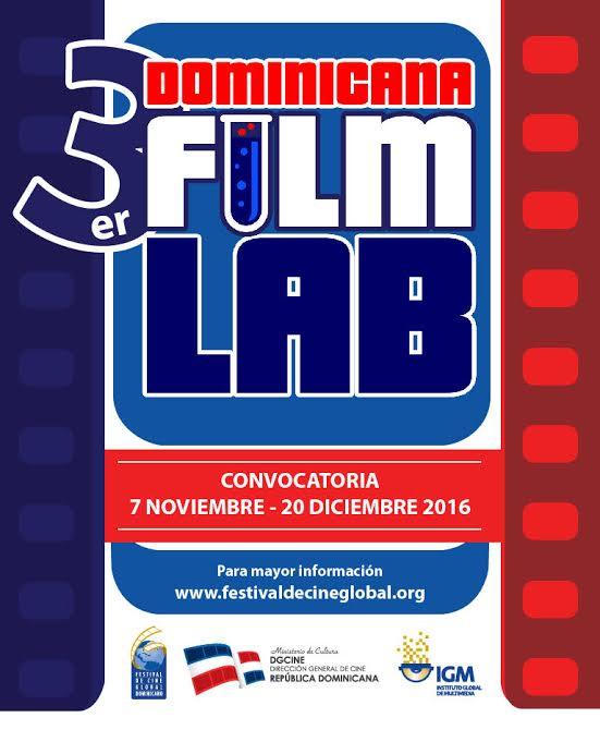 , El FCGD invita a participar en el III dominicana film lab.