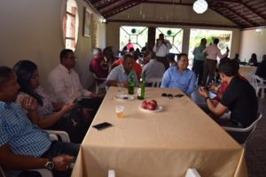 , Piden unidad de los periodistas en almuerzo de fin de año CDP y SNTP