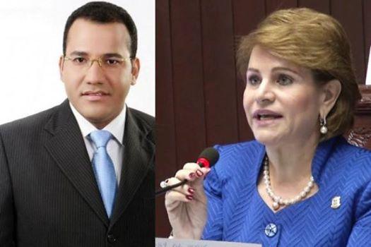 , Hermana del presidente Danilo medina dice mantendrá acusación contra Holguín hasta el fin.