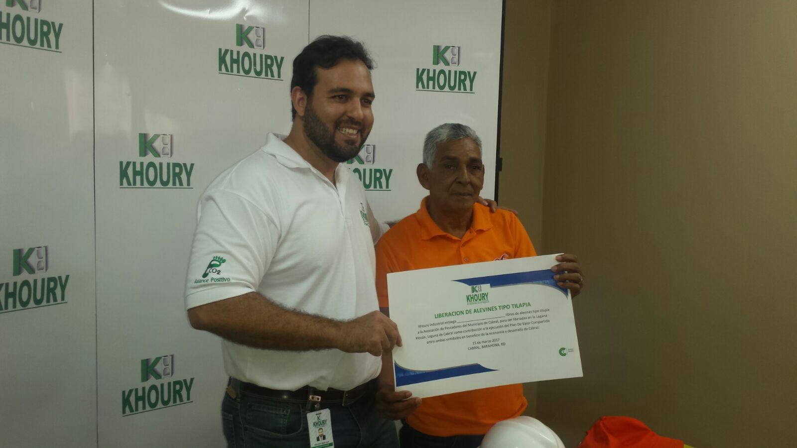 , Khoury Industrial sigue apoyando el desarrollo económico de Cabral
