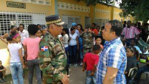 , PALO  ALTO: Obras Públicas y Alcaldía intervienen comunidad Operativo Medico-Militar