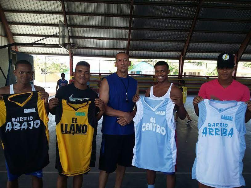 , Celebrarán Torneo de Baloncesto Juvenil y 2do encuentro de Liga Añeja de Baloncesto en Cabral
