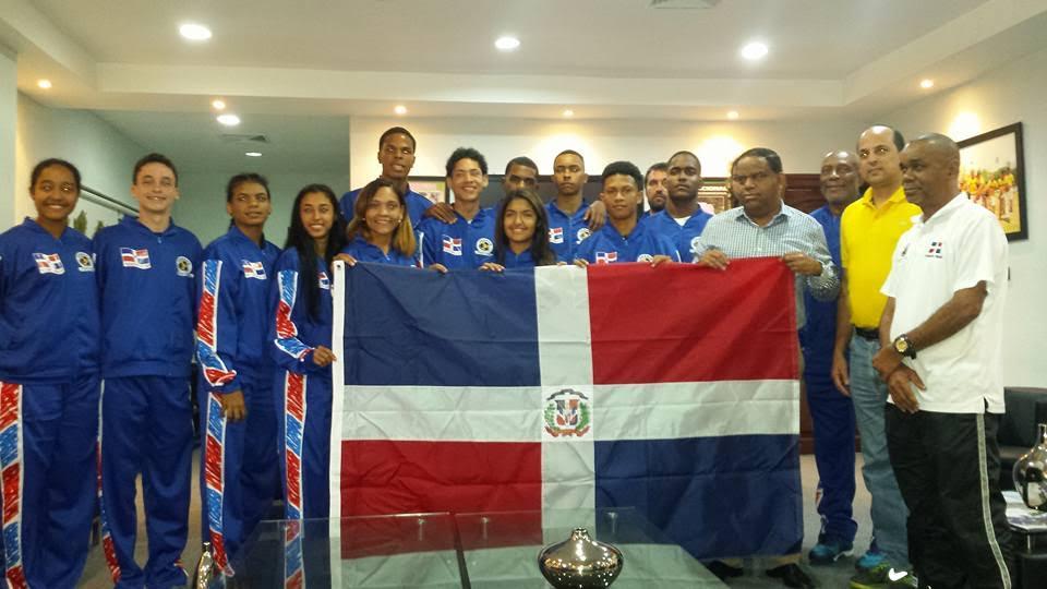 , 4 jóvenes de selección dominicana Korfball son barahoneros  y asisten al Mundial de Korfball en Holanda.