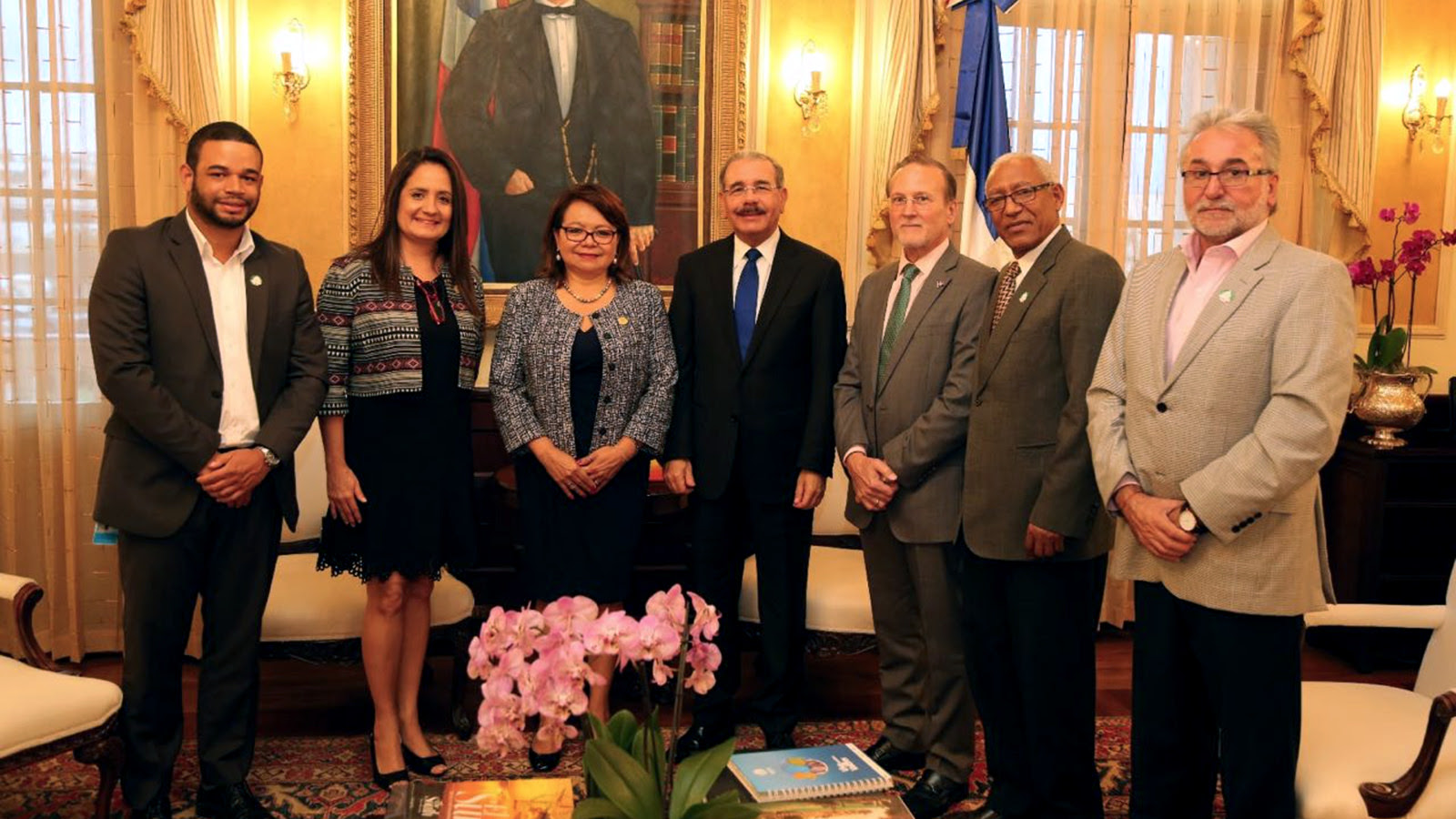 , Danilo Medina conoce resultados Centros MIPYMES en República Dominicana y región SICA