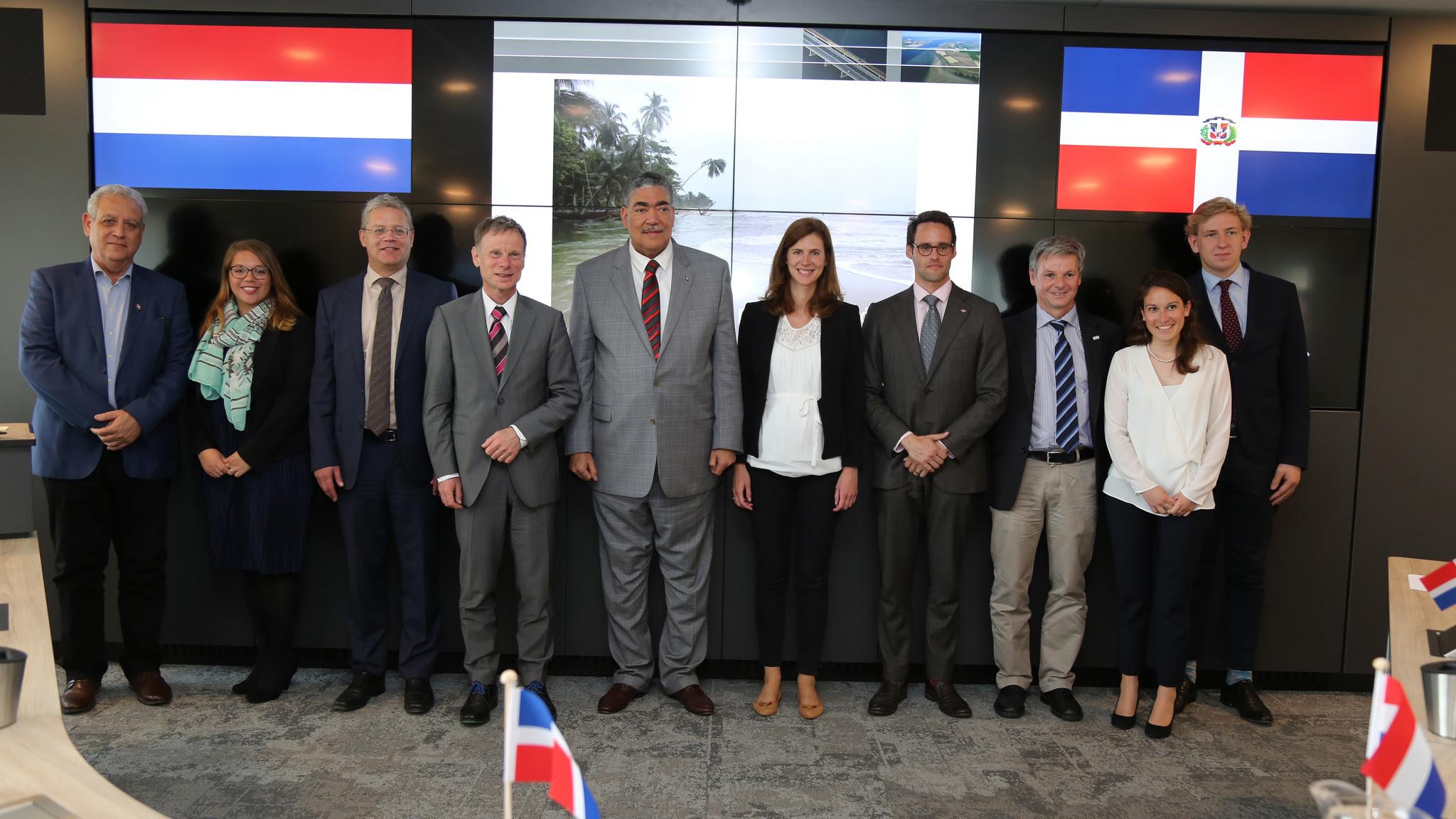 , Instituto holandés Deltares ofrece cooperación en manejo del agua a República Dominicana
