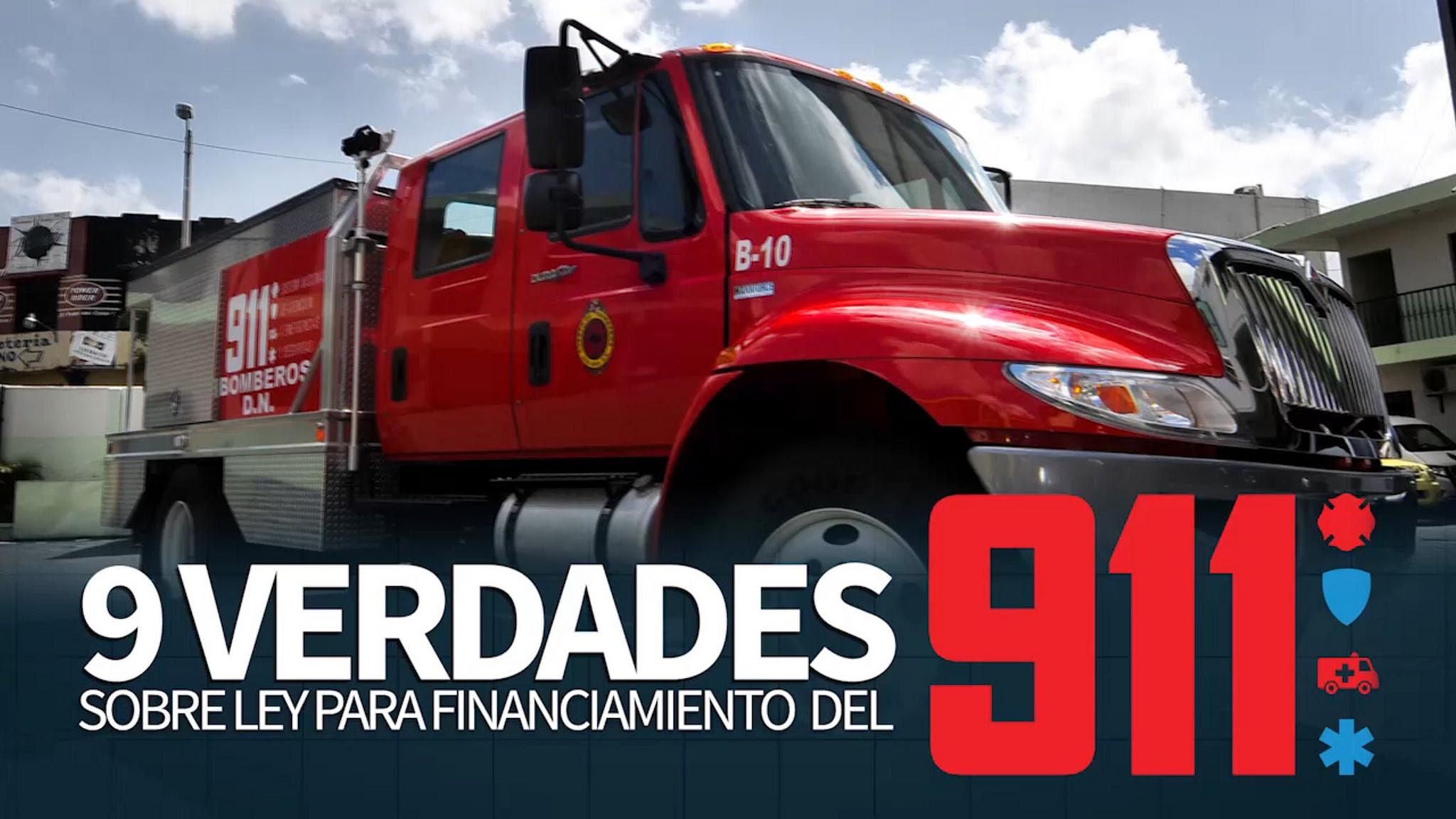 , Nueve verdades sobre ley financiamiento 911
