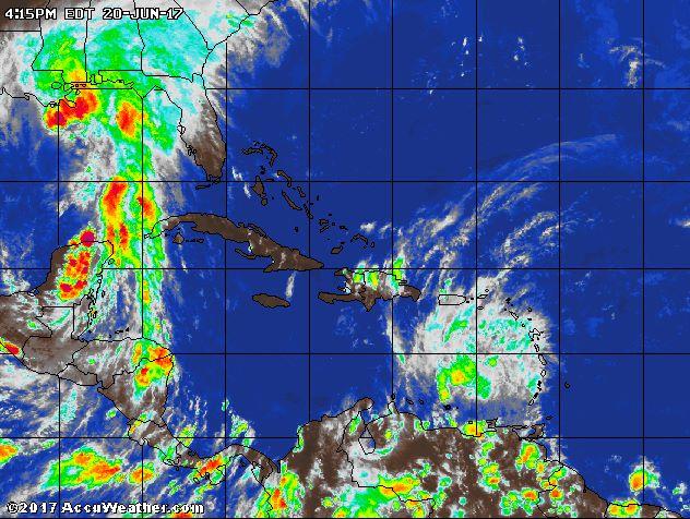 , Tormenta BRET degenera en onda tropical.