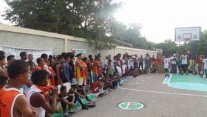 , En Salinas inician torneo de Baloncesto en forma de protesta por reparación de Canchas