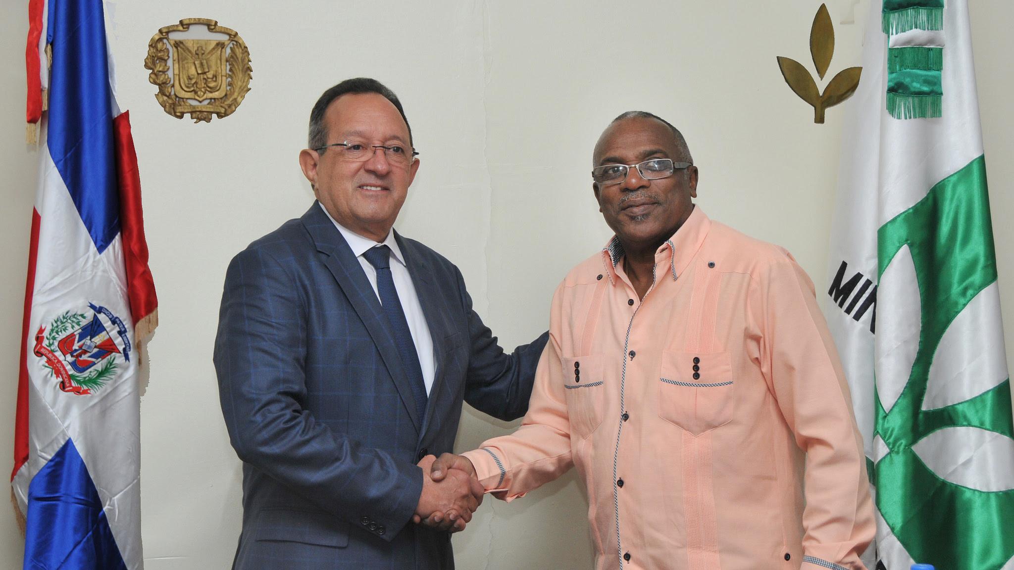 , Ministros de Agricultura de Haití y RD realizan encuentro de fortalecimiento bilateral