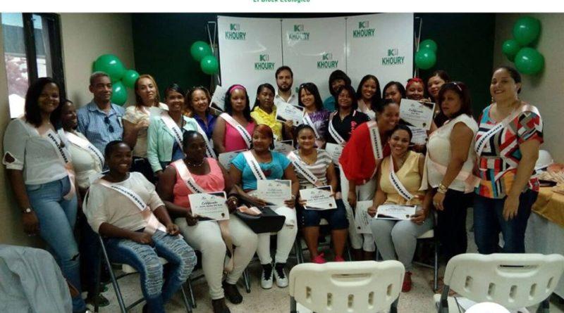 Khoury Industrial desarrolla plan de emprendimiento con Mujeres de Cabral y Barahona