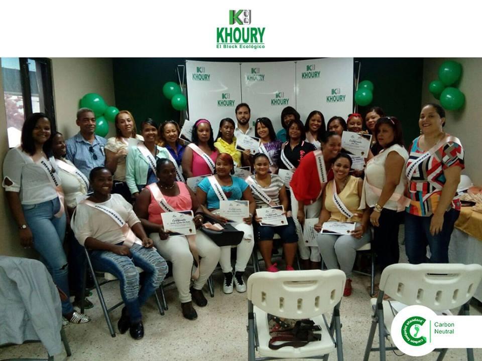 , Khoury Industrial desarrolla plan de emprendimiento con Mujeres de Cabral y Barahona