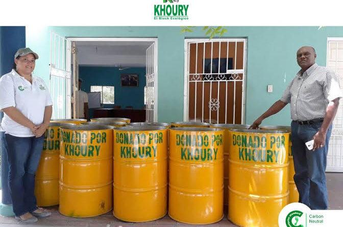 Khoury Industrial Aporta Tanques para Parques y Plazoletas de Cabral