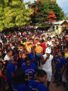 , La fundación Dar es Mejor que Recibir realiza su segunda fiesta infantil en Cabral.