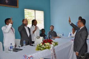 , Sala capitular escoge nuevas autoridades y Alcalde rinde cuentas