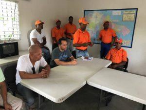 , Alcalde de Cabral Y PMR pasan revisión ante amenaza de huracán