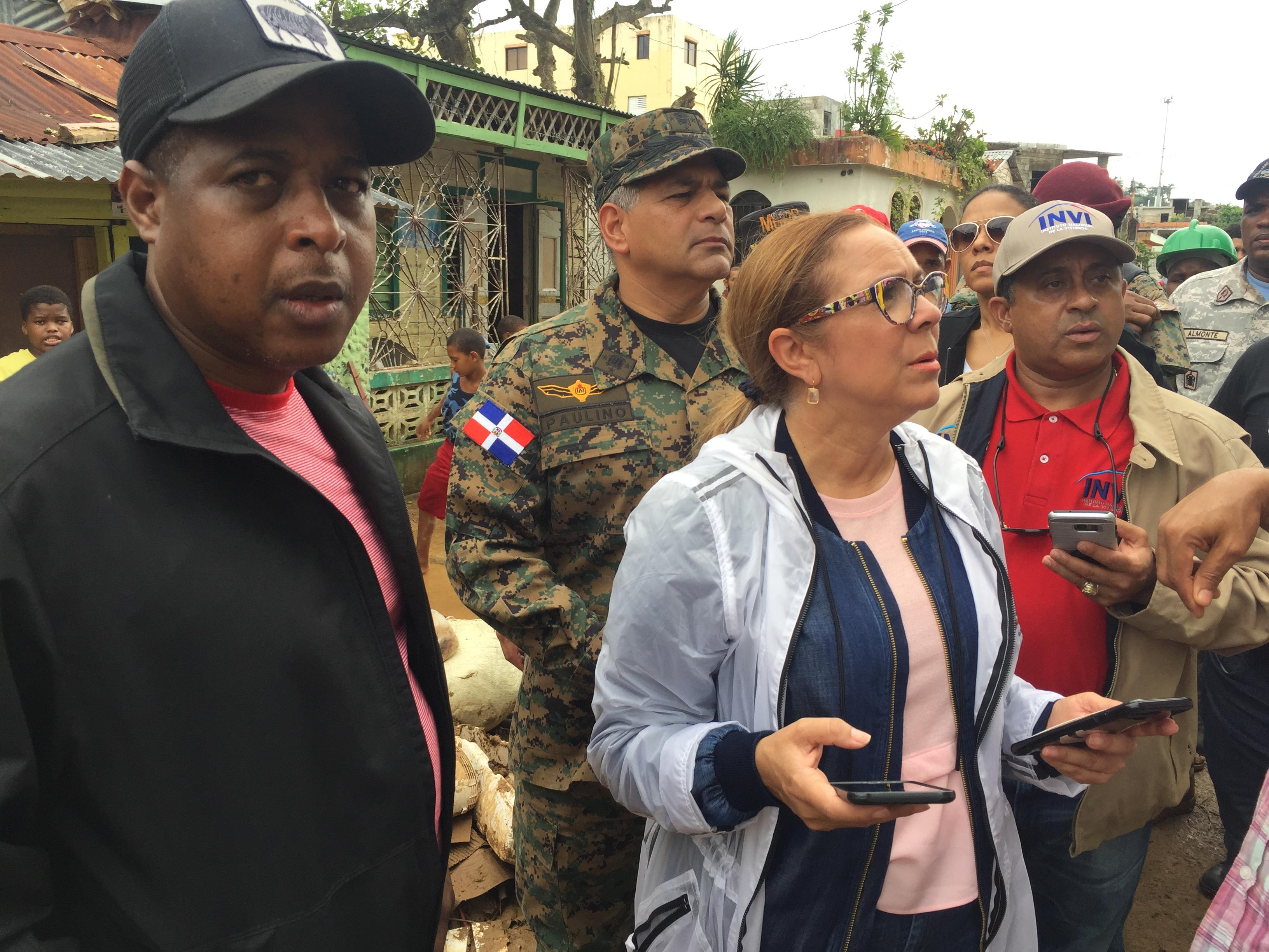 ", Iris Guaba: ""Gobierno dominicano seguirá dando respuesta a afectados huracán María"