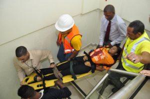 , EGEHID realiza simulacro de sismo 6.8 grados con personal de la institución