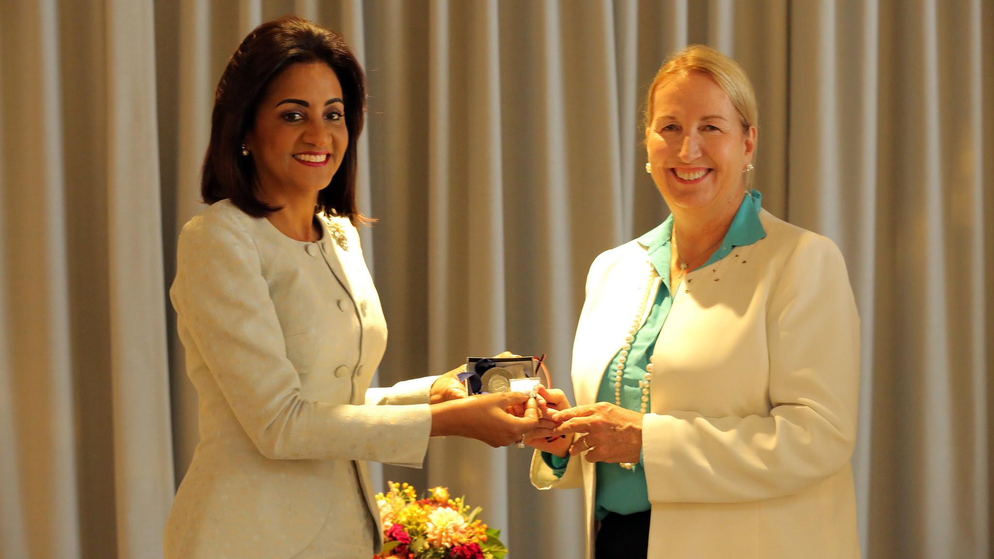 , Despacho Primera Dama acuerda con la NYU programas para mujeres más saludables en RD