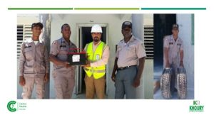 , Khoury Industrial aporta herramientas para seguridad ciudadana del Municipio de Cabral