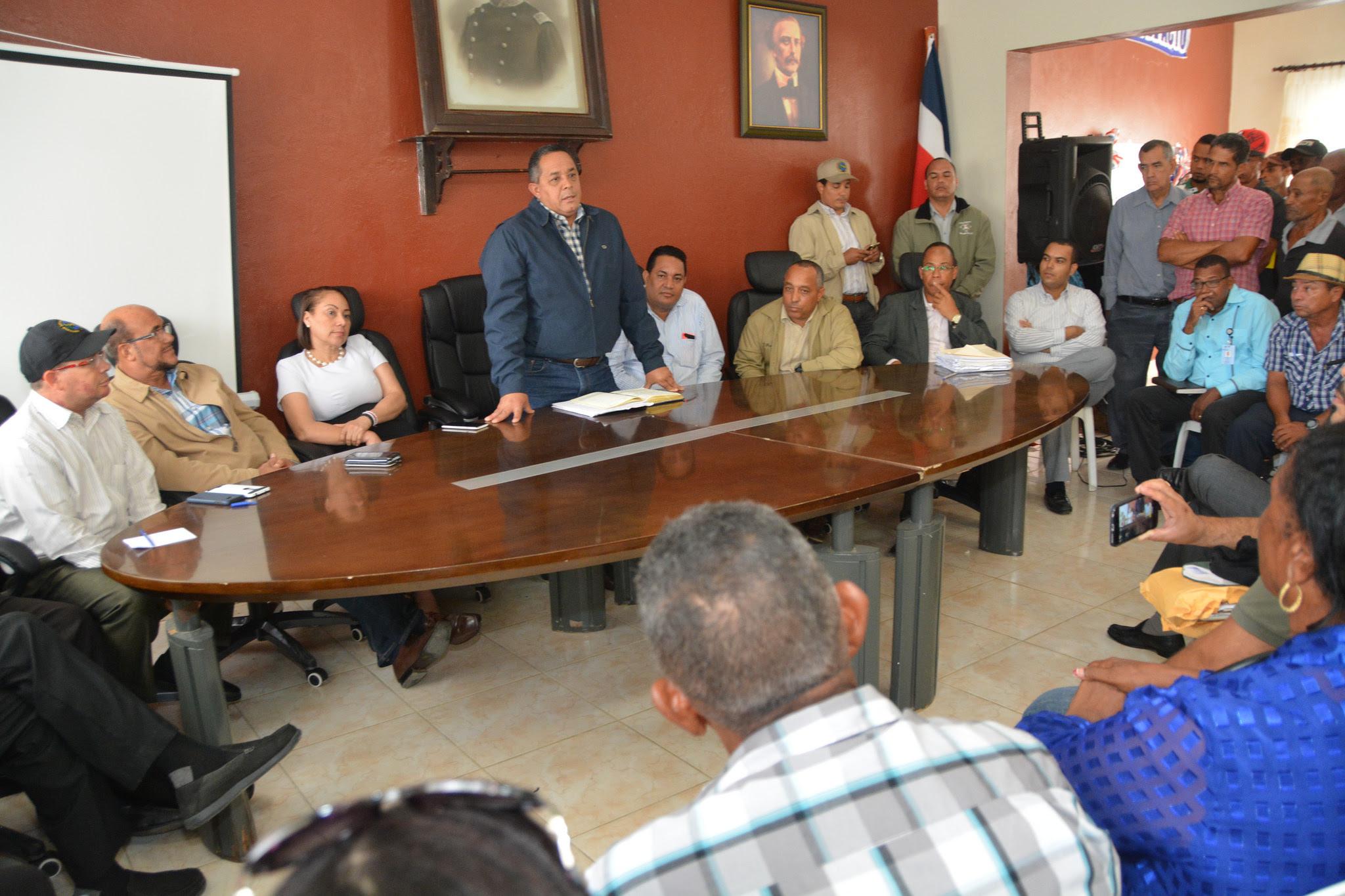 , Seguimiento a Visita Sorpresa: director IAD se reúne con productores de Luperón, Puerto Plata