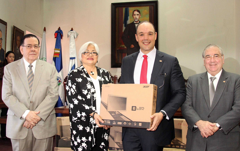 , Indotel y Academia de la Historia firman convenio para dotar  de infraestructura tecnológica a la entidad formativa
