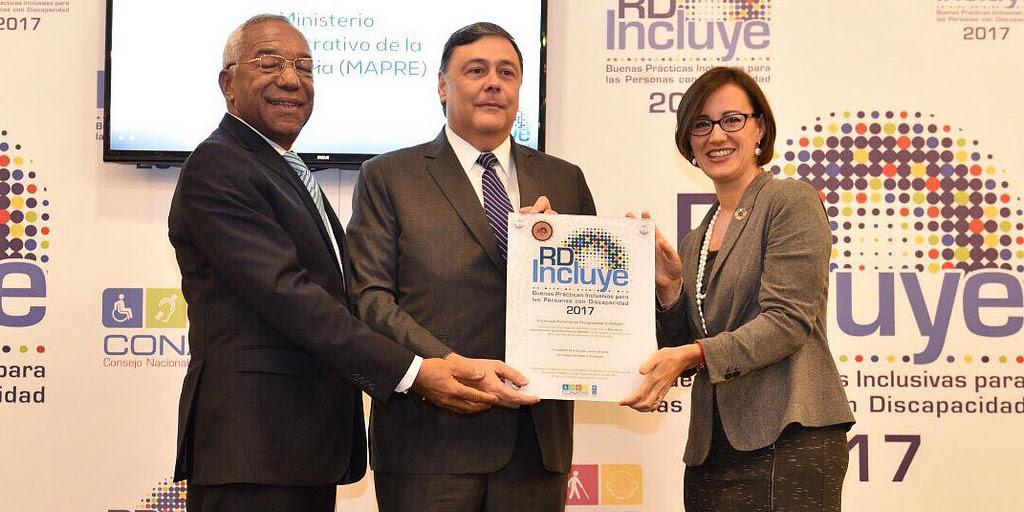 , CONADIS y PNUD reconocen Ministerio Administrativo de la Presidencia por prácticas inclusivas