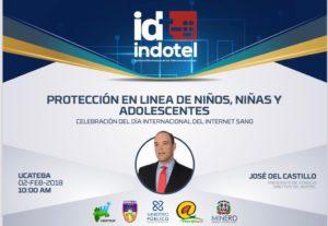""", José del Castillo Saviñón, disertará este viernes  sobre la """"protección en línea de niños, niñas y adolescentes, en UCATEBA"""