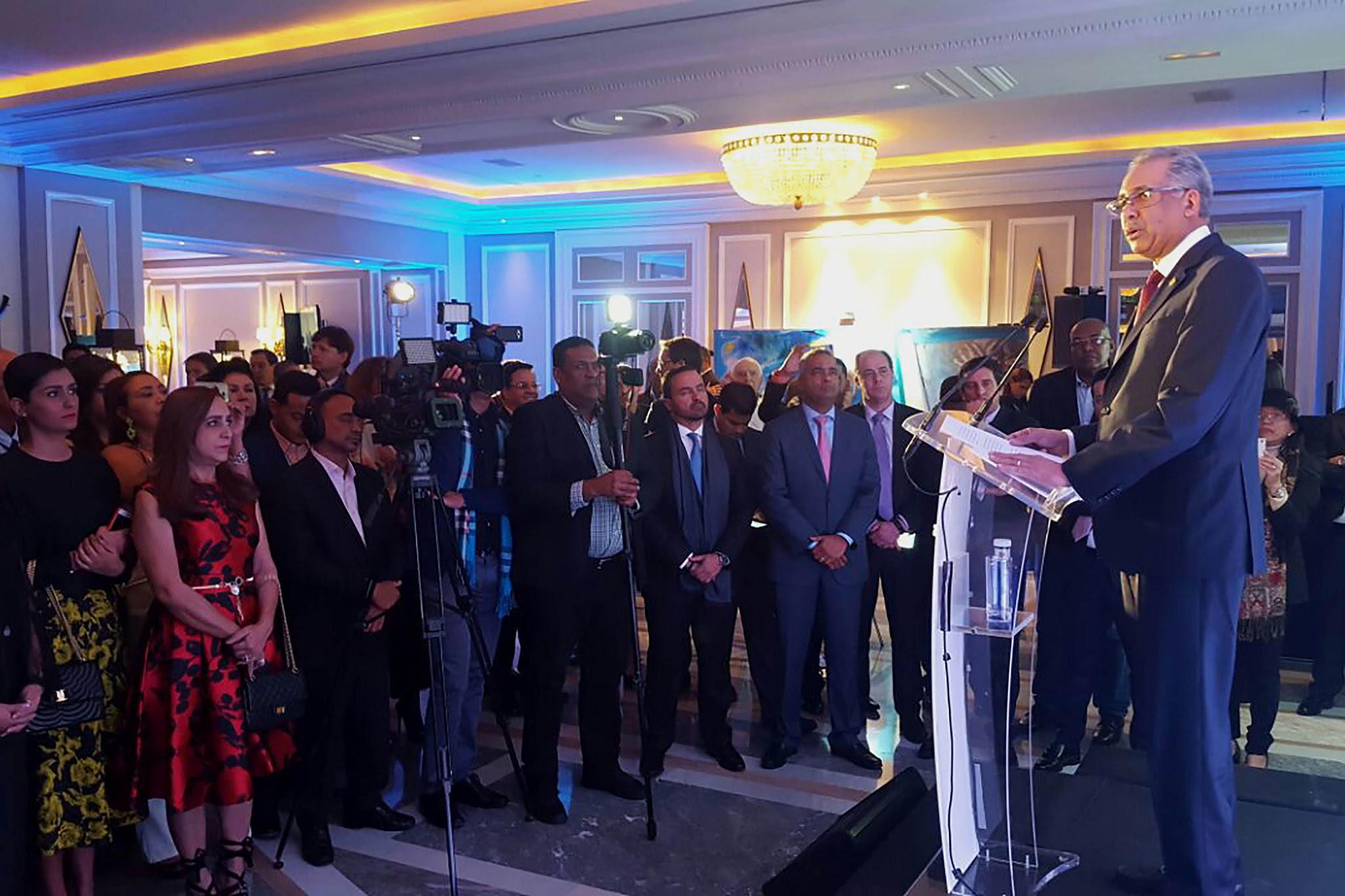 """, Simón Lizardo Mézquita: """"Dinamismo en turismo es gracias al crecimiento y fortaleza de economía"""""""