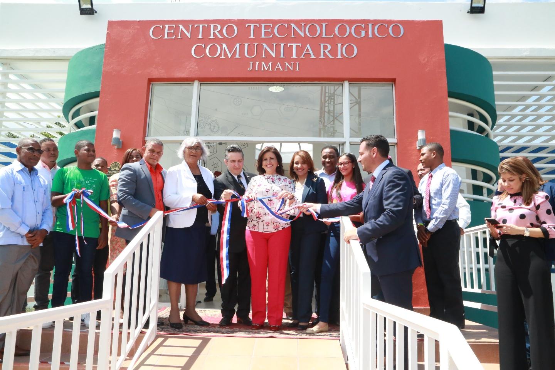 , Jimaní recibe Centro Tecnológico de la Vicepresidencia; tendrá metodología Maker