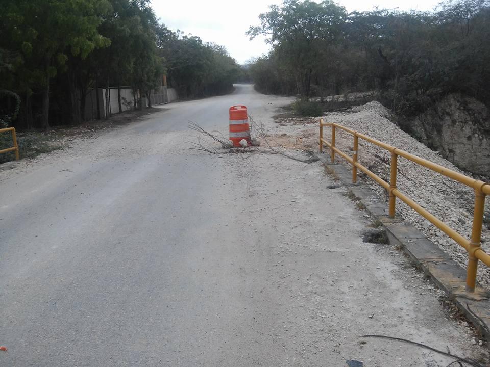 , Puente que une a Cabral y Polo sigue en franco deterioro