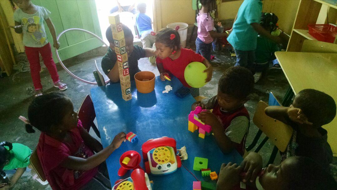 , Piden mayor respaldo para centro de atención a la infancia en La Salinas