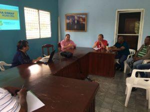 , ASOMURE capacita personal Alcaldía de Cabral sistema SISMAP