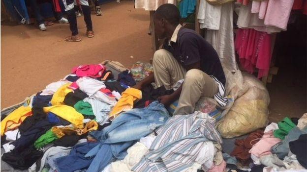 , País africano que se enfrenta a Estados Unidos porque no quiere su ropa usada