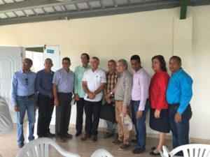 , Ministro de la Presidencia, Gustavo Montalvo, visita proyectos apoyo ganadería en La Sierra