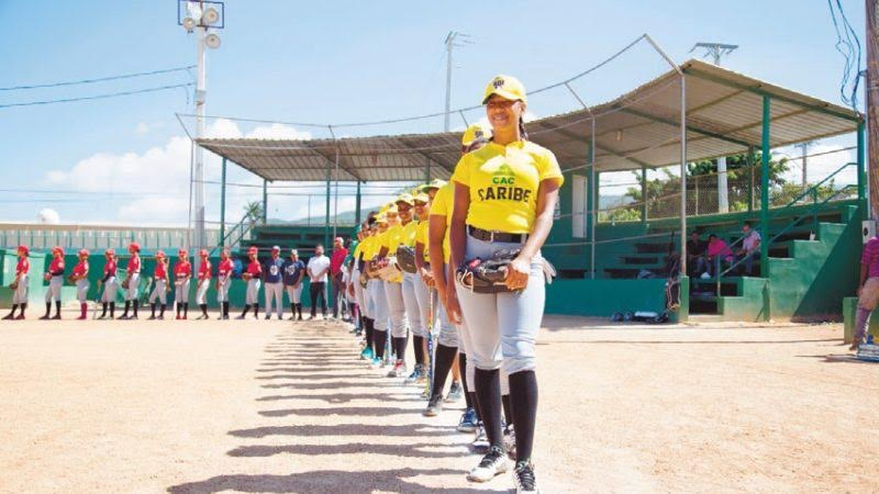 , CAC apoya en Barahona softbol femenino programa RBI