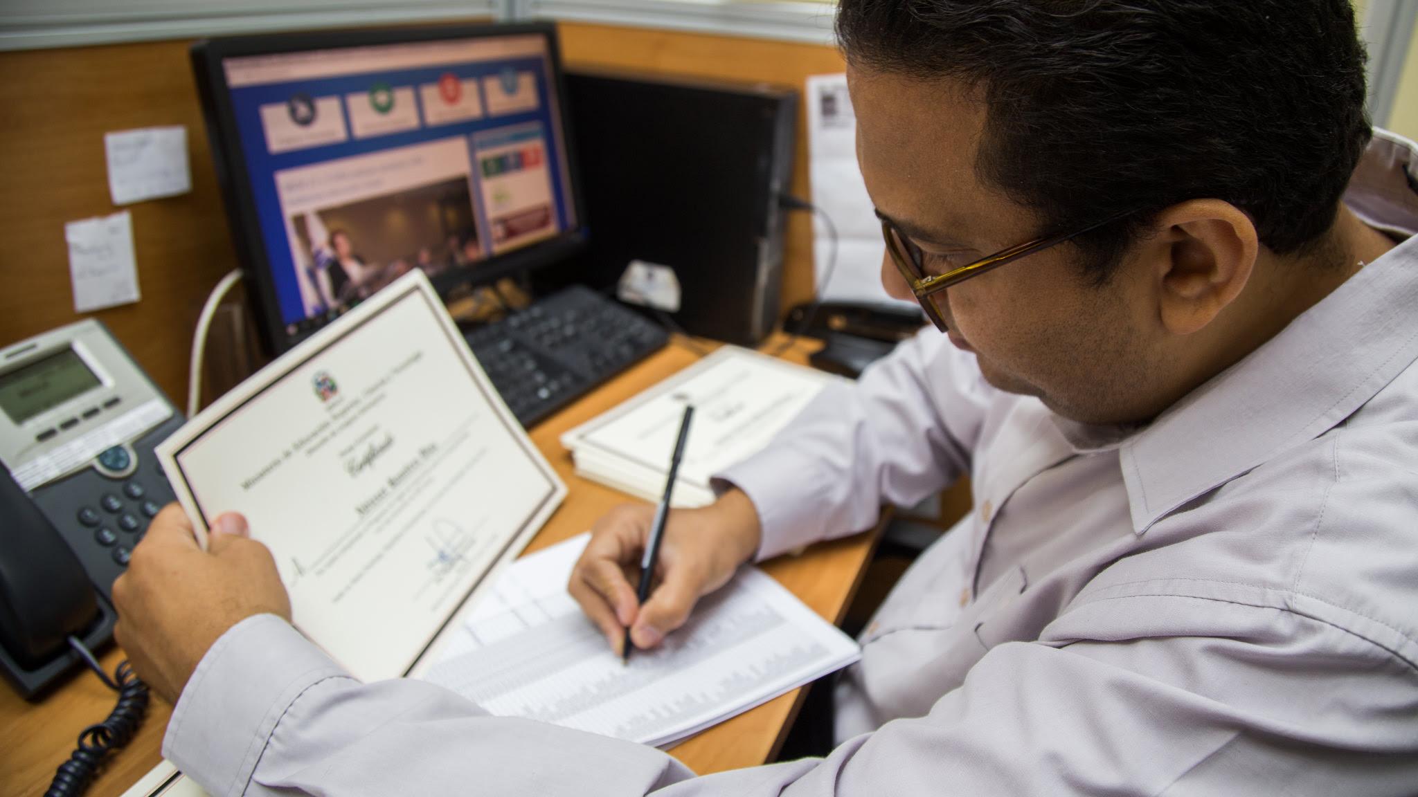 , Ya se puede solicitar en línea certificación y legalización de documentos