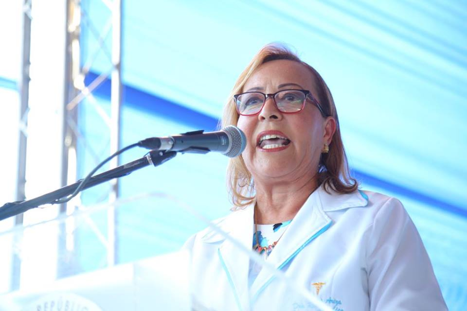 , Dra. Rosa Ariza Cury, directora del Hospital Municipal de Cabral