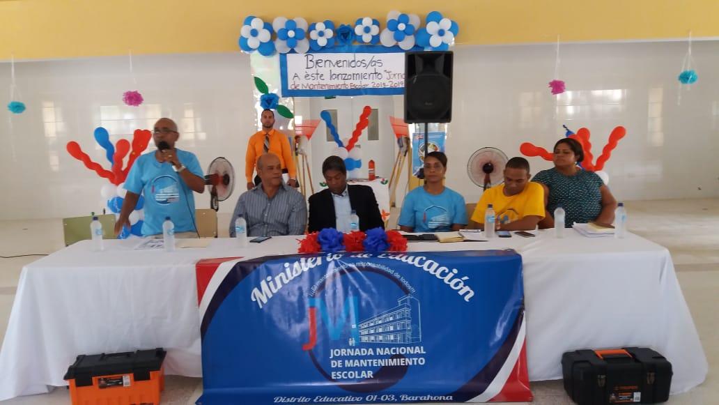 , Inician jornada mantenimiento escolar en la Regional 01 de Educación