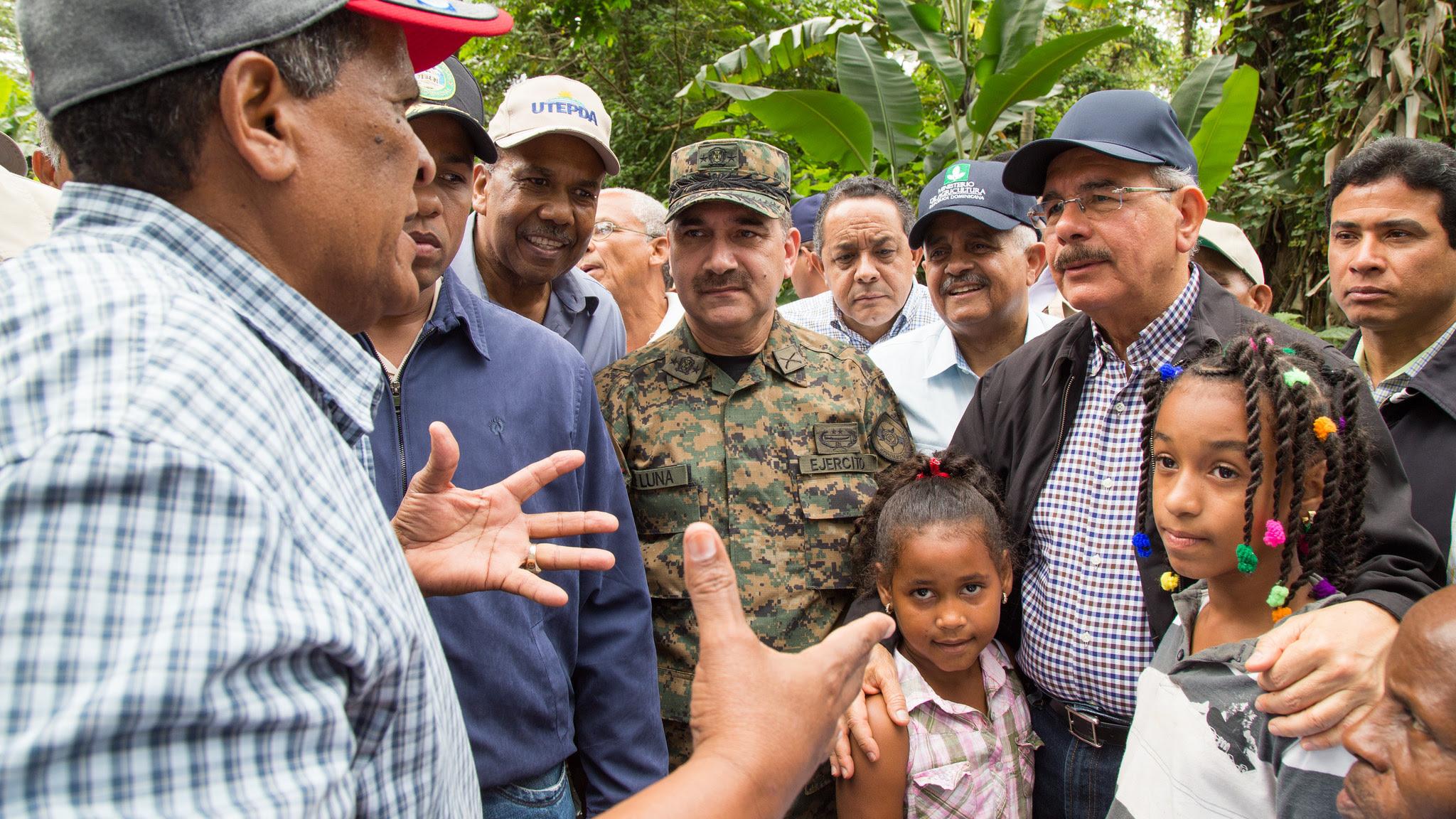 , Danilo realiza amplio recorrido proyectos agroforestales de Barahona, supervisa Presa de Monte Grande